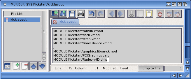 MultiEdit Add RadeonHD to Kicklayout